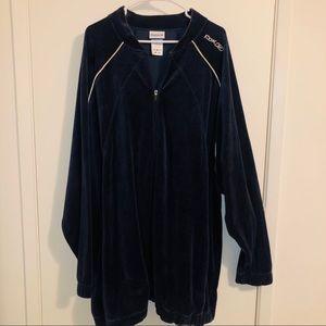 ✅ Reebok Classic Velour Jacket 3XLT